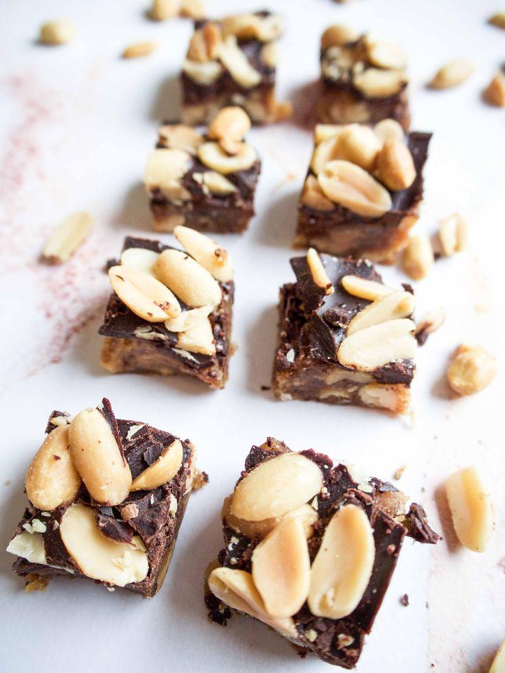 Sunde snickers - opskrift på hjemmelavet snickers