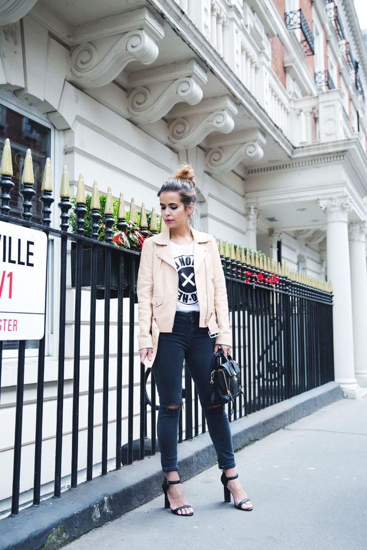 London-Street_Style-Sandro_Paris-Biker-Ripped_Jeans-13