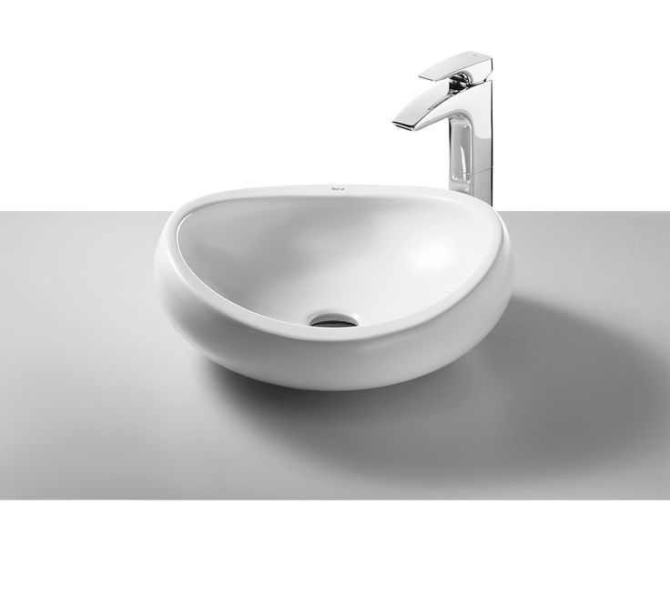 Roca Urbi 1 On Countertop 450mm Basin With No Taphole