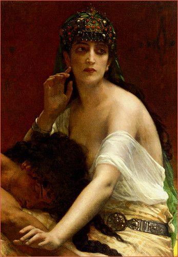 """Samson and Delilah"" by Alexandre Cabanel."