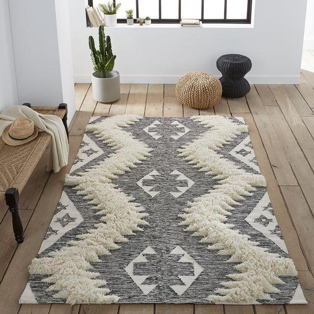 Le tapis style berbère, Kowalska. Tissé à la main et d'inspiration berbère, ce tapis à la douceur naturelle est en laine mélangée. Fabrication artisanale.Caractéristiques du tapis style berbère, Kowalska :70% laine, 30% coton.1900 g/m².Tissé main.Dimensions du tapis style berbère, Kowalska :Taille 1 : 120 x 170 cmTaille 2 : 160 x 230 cmDimensions et poids du/des colis :Taille 11 colisPlié : L60 x H30 x P40 cm 5,5 kgTaille 21 colisPlié : L60 x H30 x P40 cm 8,5 kgLivraison chez vous :Votre…