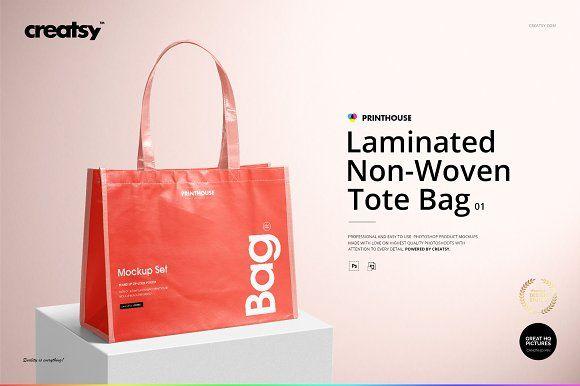 Download Laminated Non Woven Tote Bag Mockups Woven Tote Bag Tote Bag Bag Mockup