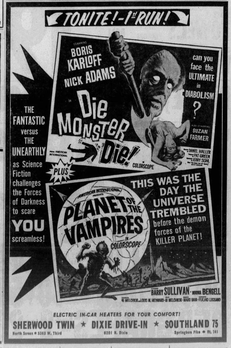 Die monster die of the vampires movie trailers