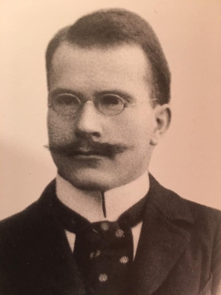 Carl Jung as an assistant physician at Burghölzi.