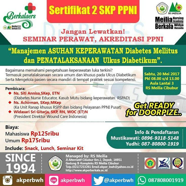 Seminar Perawat 2SKP daftarkan sekarang di AKPER BERKALA • • #akper #akademi #keperawatan #akperberkala #cibubur #depok #cileungsi #bekasi #bogor #tangerang #jakarta #indonesia #mahasiswa #kampus #kuliah #perawat #nakes #nurse #profesi