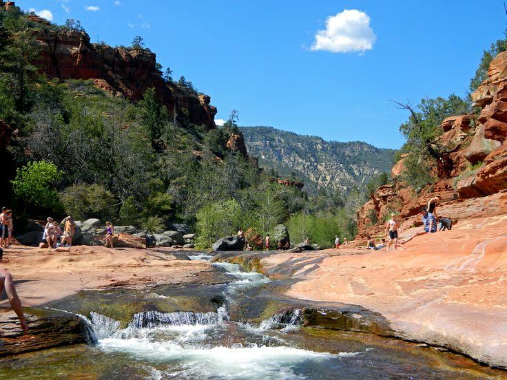 Slide Rock... Slide Rock State Park. Sedona, AZ Natural Waterslides by Jenna Blumhagen on 500px