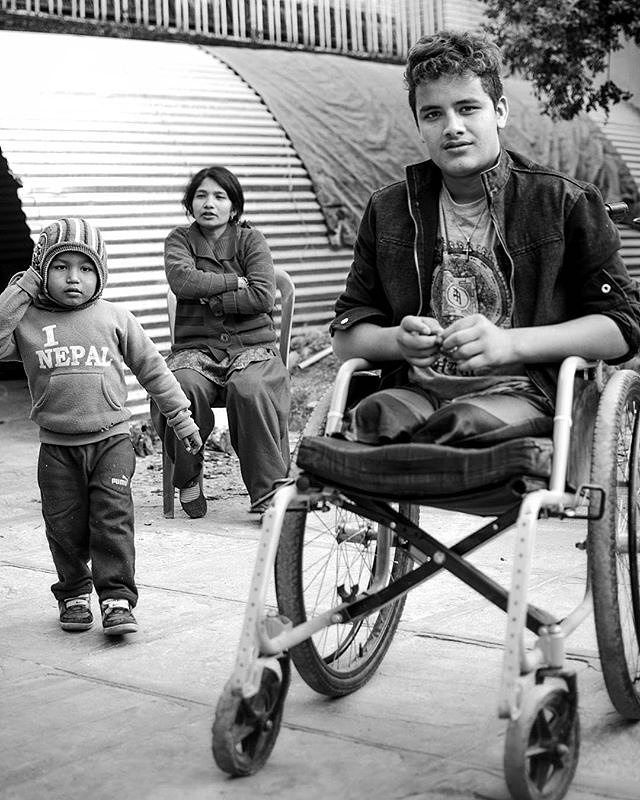Photo by @joesieder  Ramesh Khatri had the misfortune to be at one of Kathmandu's busy bus parks when a 7.8 magnitude earthquake struck on 25th April 2015. Crushed under falling debris he had to have both his legs amputated as a result of his injuries. After surgery Ramesh was referred to the residential clinic set up by medical engineer Samrat Basnet and his small team at Nepal Healthcare Equipment Development Foundation (#NHEDF). After months of physiotherapy and support from NHEDF staff…