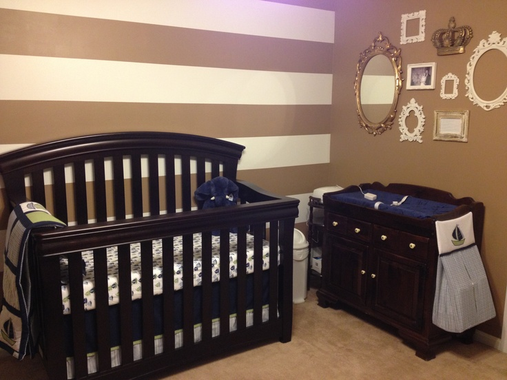 Baby nursery almost complete!