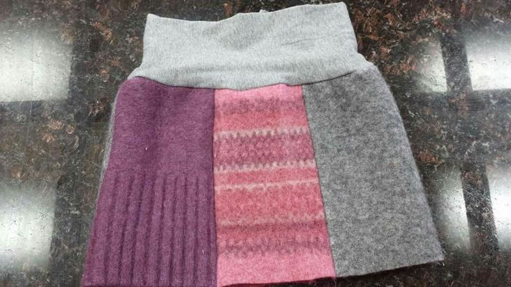 Felted wool skirt made for friends daughter