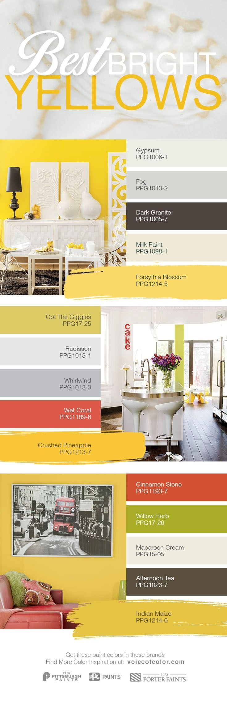 best 25 yellow paint colors ideas on pinterest yellow kitchen walls yellow walls bedroom and. Black Bedroom Furniture Sets. Home Design Ideas