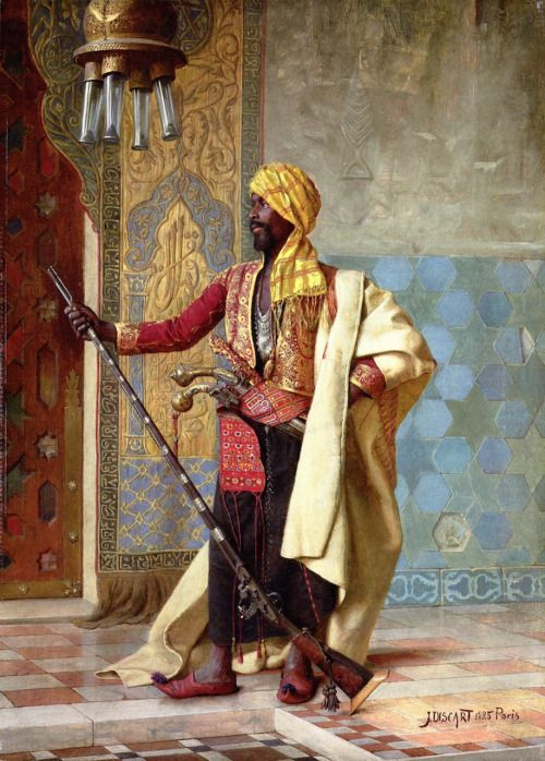 The Harem Guard (1885), Jean Discart