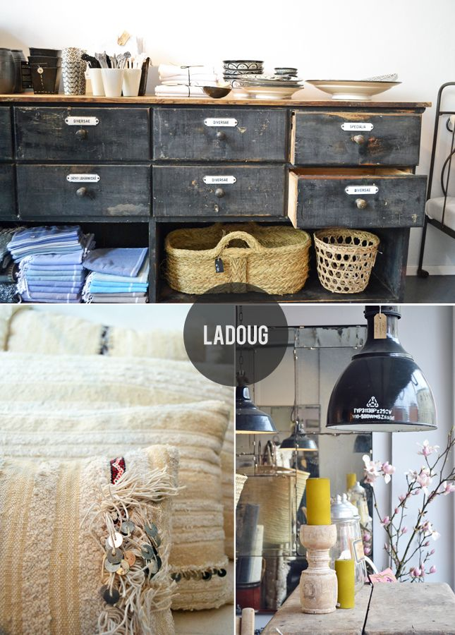 Boutique 'Ladoug'. This is a real gem in downtown Munich.