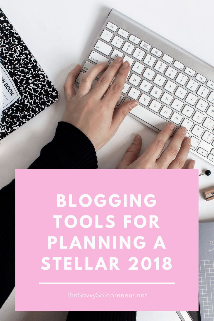 Best Blogging Tools For 2018