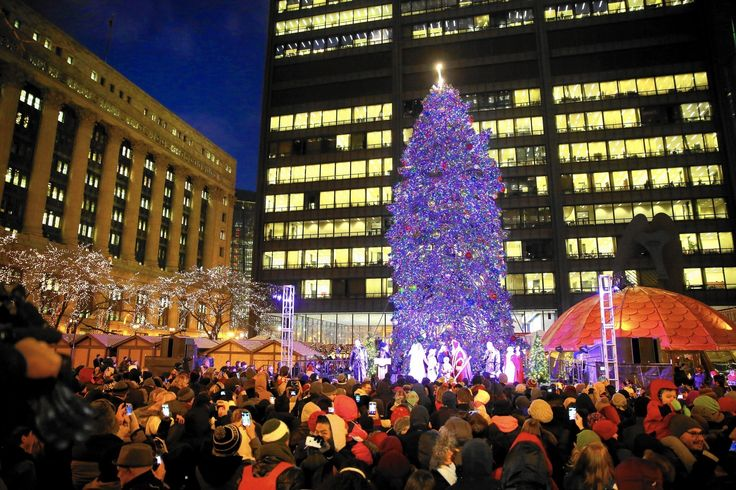 After almost 50 years in Daley Plaza, Chicago's official Christmas tree this year will stand in Millennium Park.