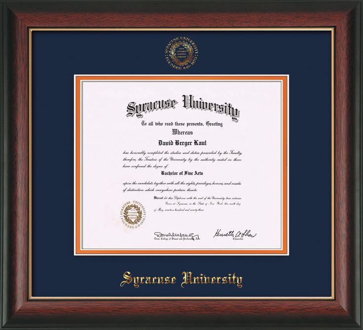 91 best Syracuse University Diploma Frames & Graduation Gifts ...