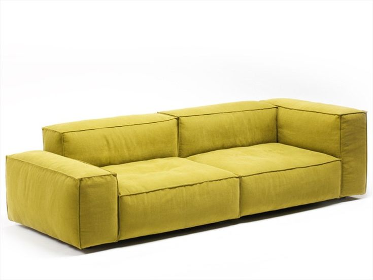 Sectional sofa with removable cover NEOWALL by Living Divani   design Piero Lissoni