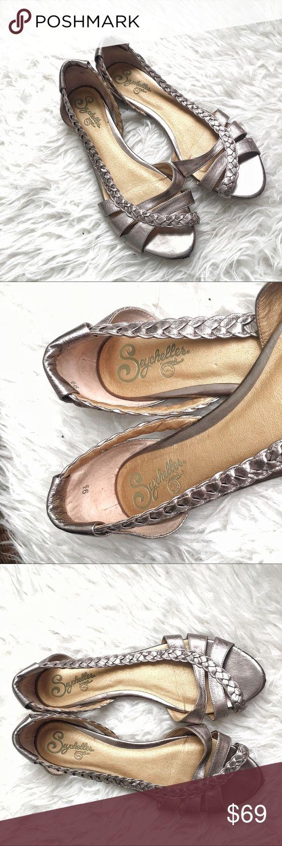 Seychelles leather braided sandals Excellent condition Seychelles Shoes Sandals