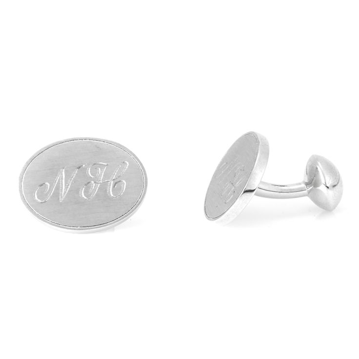 Lets not forget the Guys, Cuff links for the groomsmen   Nicholas Haywood Jewellery Concierge - Personalised Sterling Silver Cuff Links, $400.00 (http://nhjc.mybigcommerce.com/personalised-sterling-silver-cuff-links/)