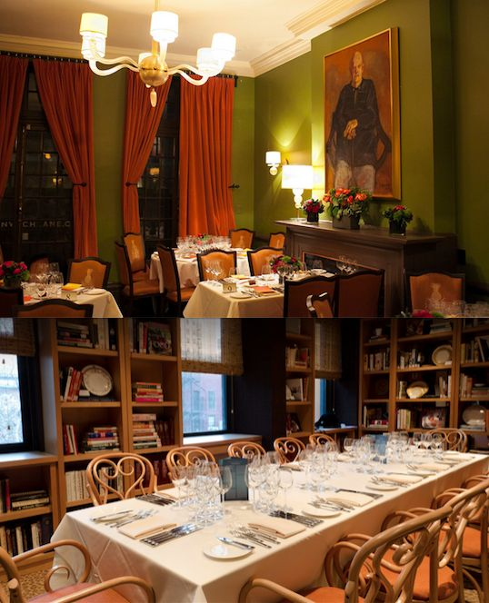 James Beard House: Dining Room. Seats 16. West Village Fine Dining Eatery