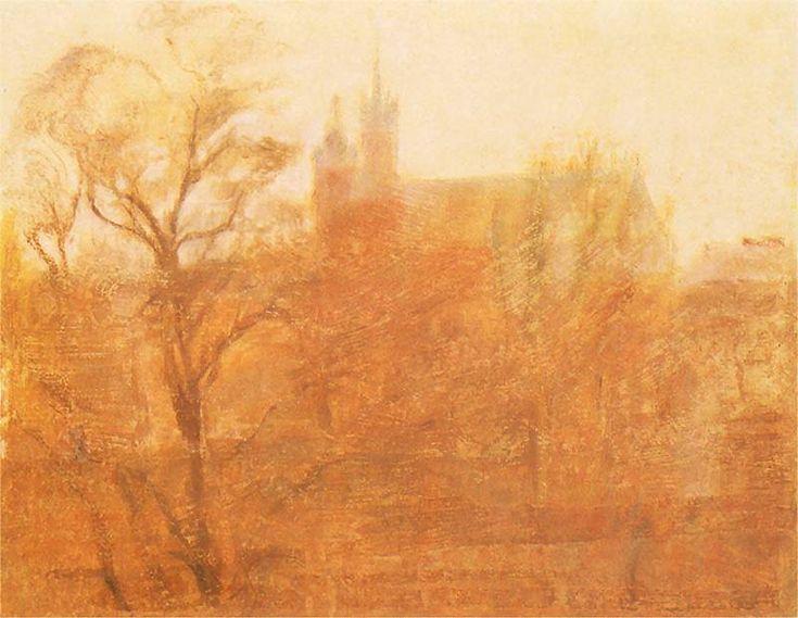 Stanisław Wyspiański, St Mary's Church, Krakow, 1900