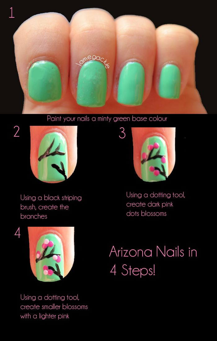 62 best arizona diy images on pinterest creative crafts cactus arizona nails in just 4 steps find this pin and more on arizona diy solutioingenieria Choice Image