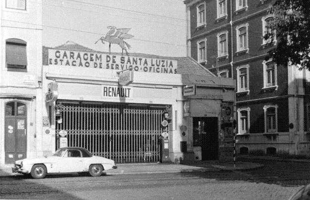 Garagem de Santa Luzia, Lisboa (João H. Goulart)