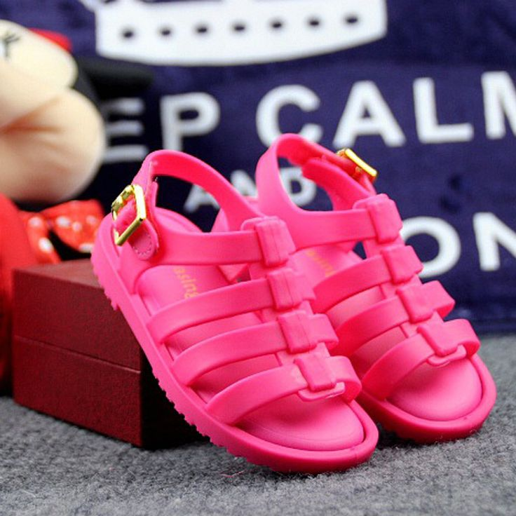 Flox MINIKHOO Rzymskie Sandały Chłopcy Dziewczyny Sandały Galaretki Buty Sandały Buty dla Dzieci Rzymskie Sandały Hollow Oddychające
