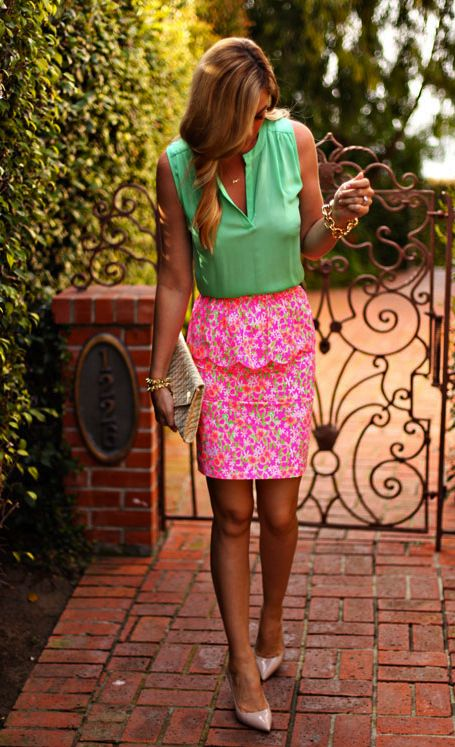 6 Ways To Take Your Lilly Pulitzer Outfit From The Ocean To The Office