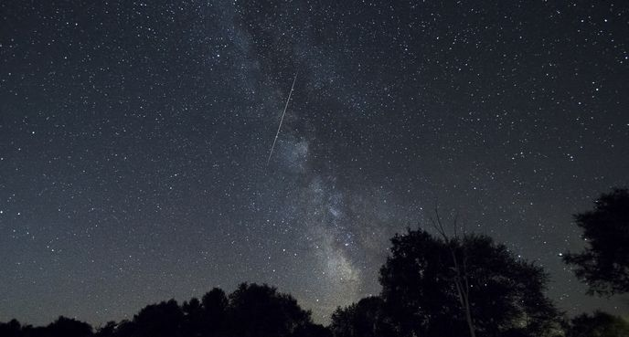 """Perseid Meteor,"" Fiona M. Donnelly, Port Elmsley, Ontario"
