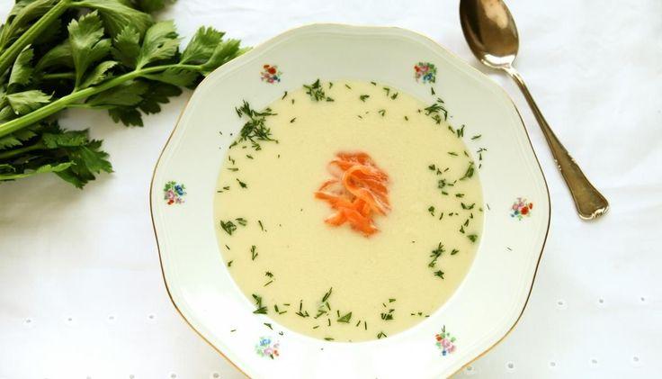 Knolselderij soepje
