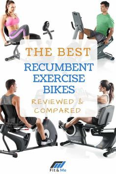 A comprehensive list of recumbent bike reviews to give you a great perspective on which ones are the best recumbent exercise bikes to go with!