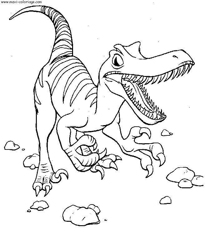Coloriage dinosaure a imprimer dinosaures pinterest - Coloriage a imprimer dinosaure ...