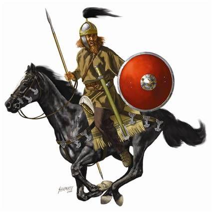Ostrogoth c. Fall of Rome