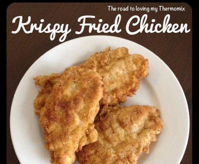 Recipe KFC Krispy Fried Chicken by theroadtolovingmythermomix - Recipe of category Main dishes - meat