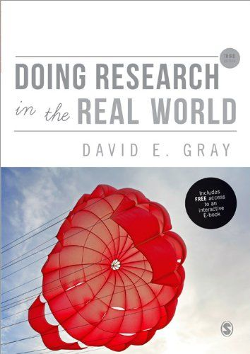 Doing research in the real world | 151.95 GRA