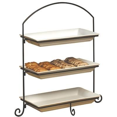 22 Best 3 Tiered Trays Images On Pinterest Serving Trays