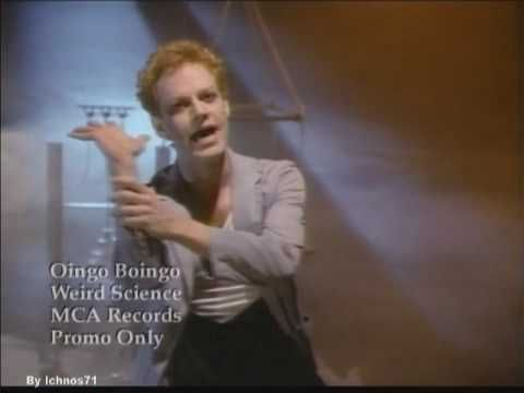 Geeky music Second on the list is from the movie Weird Science : Oingo Boingo - Weird Science (and yes that is Danny Elfman)