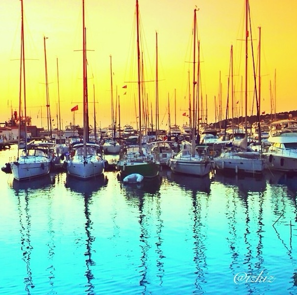 Cesme Marina, Turkey