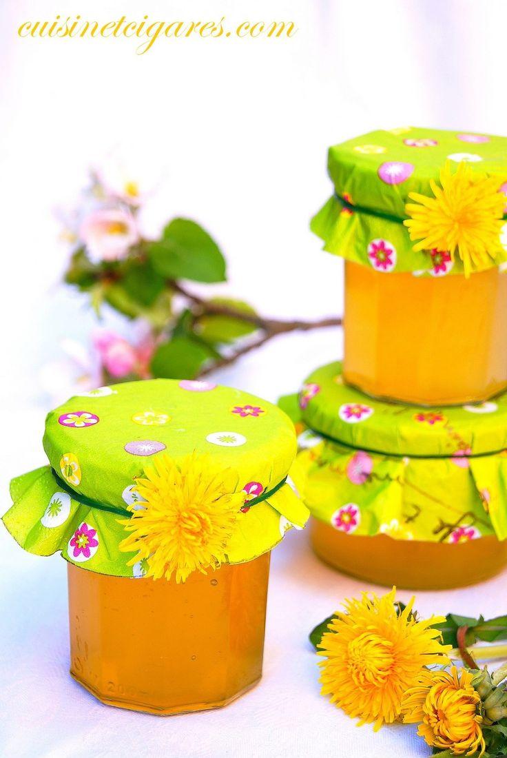 Cramaillotte ou gelée ou miel de Fleurs de Pissenlits