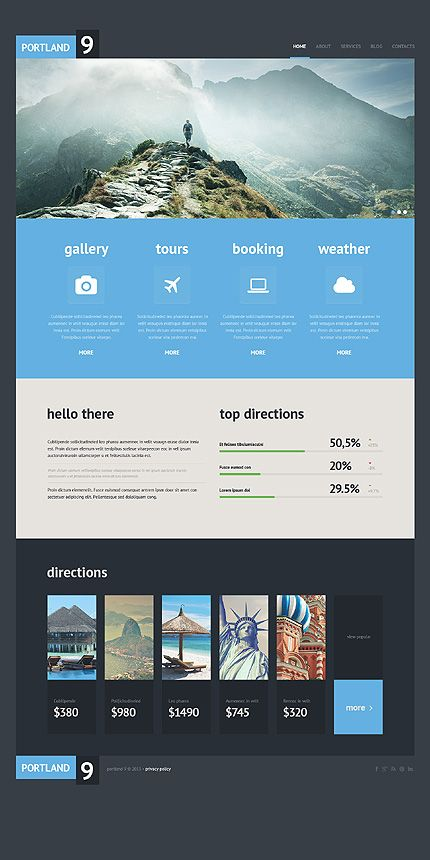 Top 25 best Travel website design ideas on Pinterest Site