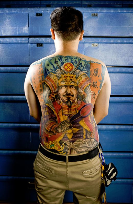 Photos from the Taipei Taiwan Tattoo Convention by photographer Steven Vigar.    There's some beautiful work featured in these photos, but unfortunately the names of the tattoo artists weren't listed.