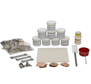 from Rio Grande: Thompson Enamel BEK-1X Beginners Kit.  Made in the USA.