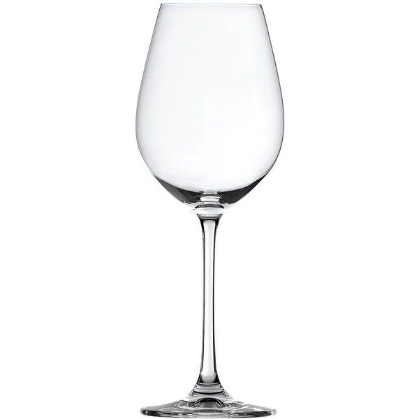 Spiegelau 4-pc. White Wine Glass Set ($25) ❤ liked on Polyvore featuring home, kitchen & dining, drinkware, set of 4 wine glasses, spiegelau, wine glass, chardonnay glass and spiegelau wine glass