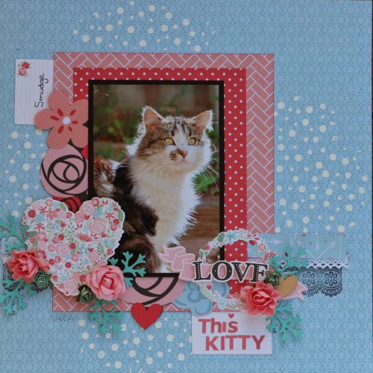 Created by Judith Armstrong using Kaisercraft XOXO collection.