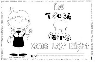 """""""The Tooth Fairy Came Last Night."""" It is a rhyming book that focuses on money/coins & the value of each coin."""