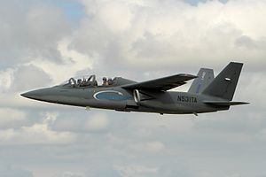 Textron AirLand Scorpion demonstration flight at the 2014 Royal International Air Tattoo