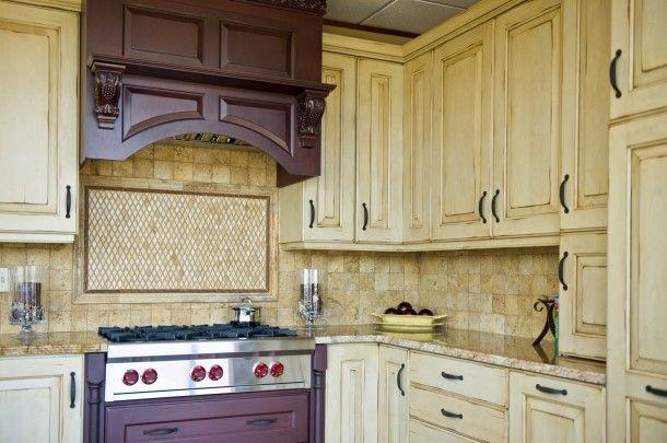 Rusztikus pasztell konyha