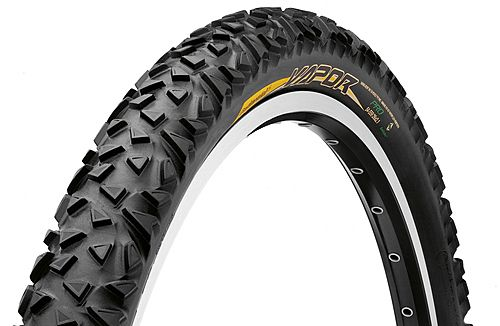 Continental Vapor MTB Tyre - Rigid 26x2.10