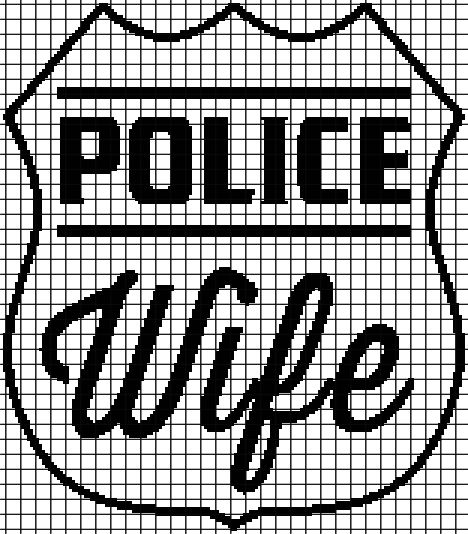 (4) Name: 'Crocheting : POLICE WIFE Graphghan Pattern