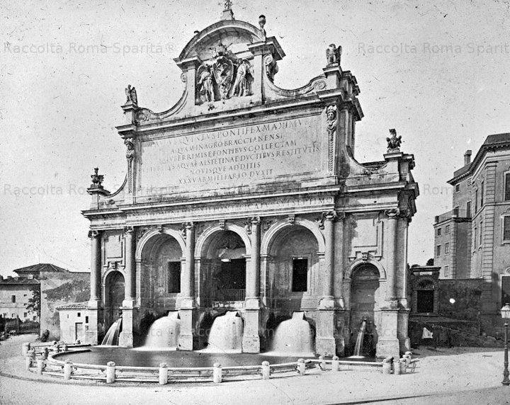 Mostra dell' Acqua Paola al Gianicolo (er Fontanone)